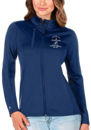Antigua Tampa Bay Lightning Womens Blue 2021 Stanley Cup Champions Generation Light Weight Jacket