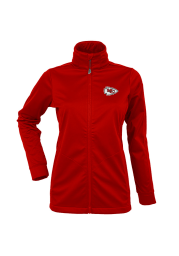 Antigua Kansas City Chiefs Womens Red Golf Medium Weight Jacket