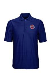 Antigua Detroit Pistons Mens Blue Illusion Short Sleeve Polo