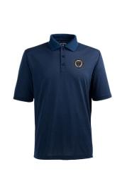 Antigua Philadelphia Union Mens Navy Blue Pique Xtra-Lite Short Sleeve Polo