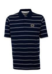 Antigua Philadelphia Union Mens Navy Blue Deluxe Short Sleeve Polo