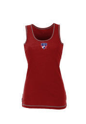 Antigua FC Dallas Womens Red Sport Tank Top