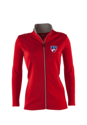 Antigua FC Dallas Womens Red Leader Light Weight Jacket