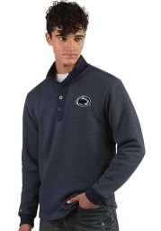 Antigua Penn State Nittany Lions Mens Navy Blue Pivotal Long Sleeve Sweater