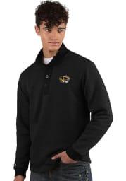 Antigua Missouri Tigers Mens Black Pivotal Long Sleeve Sweater