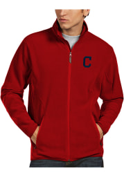 Antigua Cleveland Indians Mens Red Ice Light Weight Jacket