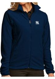Antigua New York Yankees Womens Navy Blue Ice Jacket Medium Weight Jacket