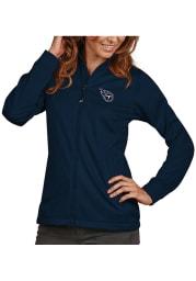 Antigua Tennessee Titans Womens Navy Blue Golf Light Weight Jacket