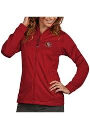Antigua San Francisco 49ers Womens Red Golf Light Weight Jacket