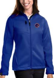 Antigua Boise State Broncos Womens Blue Traverse Medium Weight Jacket