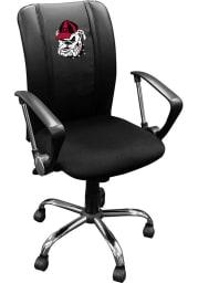 Georgia Bulldogs Curve Desk Chair