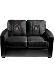 Auburn Tigers Faux Leather Love Seat