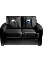 Buffalo Sabres Faux Leather Love Seat