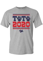 Wizard of Oz Womens Grey Toto 2020 Short Sleeve T Shirt