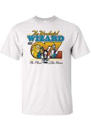Wizard of Oz Womens White Classic Short Sleeve T Shirt