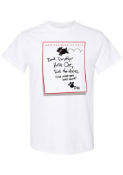 Wizard of Oz Womens White Dear Dorothy Short Sleeve T Shirt