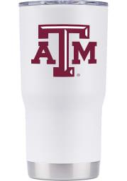 Texas A&M Aggies Team Logo 20oz Stainless Steel Tumbler - White