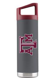 Texas A&M Aggies 16 oz Bottle Stainless Steel Tumbler - Grey