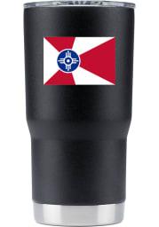 Wichita City 20oz Stainless Steel Tumbler - Black