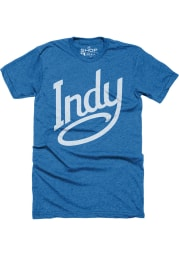 Indianapolis Blue INDY Short Sleeve Fashion T Shirt