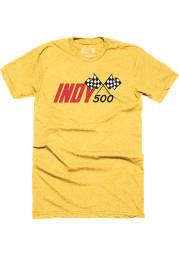 Indianapolis Gold INDY 500 Short Sleeve Fashion T Shirt