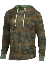 Alternative Apparel Wichita Camo Long Sleeve Hood Sweatshirt