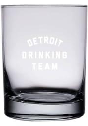 Detroit 14oz Engraved Rock Glass