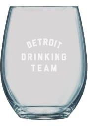 Detroit 21oz Engraved Stemless Wine Glass
