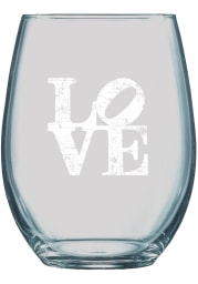 Philadelphia 21oz Engraved Stemless Wine Glass