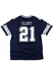 Ezekiel Elliott Dallas Cowboys Youth Navy Blue Nike Away Football Jersey