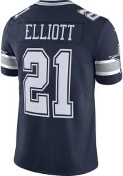 Ezekiel Elliott Nike Dallas Cowboys Mens Navy Blue Road Limited Football Jersey