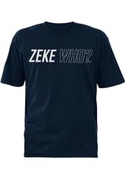 Ezekiel Elliott Dallas Cowboys Navy Blue Zeke Who Short Sleeve Player T Shirt