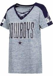 Dallas Cowboys Womens Curetta Fashion Football Jersey - Navy Blue