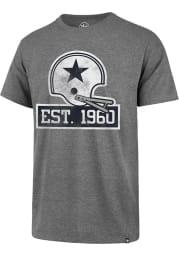 47 Dallas Cowboys Grey 60th Anniversary Imprint Club Short Sleeve T Shirt