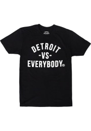 Detroit Vs Everybody Classic Short Sleeve T-Shirt - Black