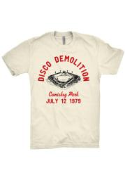 Chitown Clothing Chicago White Disco Demo Short Sleeve T Shirt