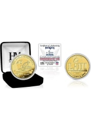 New England Patriots Super Bowl LIII Champions Gold Collectible Coin
