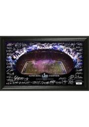 New England Patriots Super Bowl LIII Champions Signature 12x20 Picture Frame