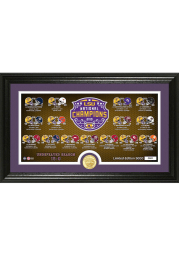 LSU Tigers 2019 National Champions Pano Plaque