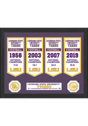 LSU Tigers 2019 National Champions Banner Plaque