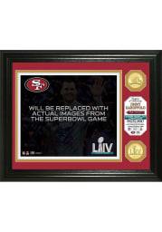 San Francisco 49ers Super Bowl LIV Champs Plaque