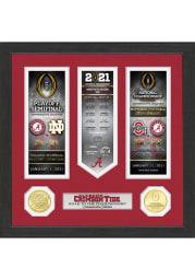Alabama Crimson Tide 2020 Road to the Championship Photo Mint Plaque