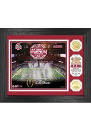 Alabama Crimson Tide 2020 Football National Champion Celebration Photo Mint Plaque