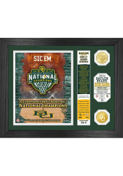Baylor Bears 2021 National Champions Bronze Coin Plaque