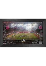 Tampa Bay Buccaneers Super Bowl LV Champions Signature Celebration Plaque
