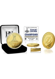 Tampa Bay Lightning 2021 Stanley Cup Champions Gold Mint Collectible Coin