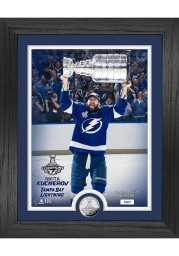 Nikita Kucherov Tampa Bay Lightning 2021 Stanley Cup Trophy Coin Photo Mint Plaque
