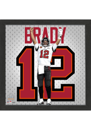 Tampa Bay Buccaneers Tom Brady Super Bowl 55 Champions Jersey Picture Frame