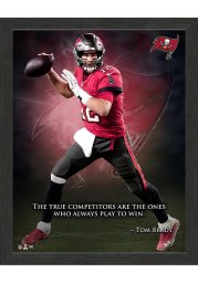 Tampa Bay Buccaneers Tom Brady Inspiration Picture Frame