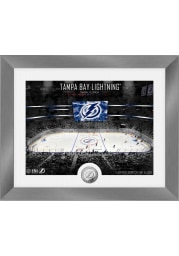 Tampa Bay Lightning Art Deco Silver Coin Photo Plaque